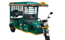 E Rickshaw Manufacturer Company in India